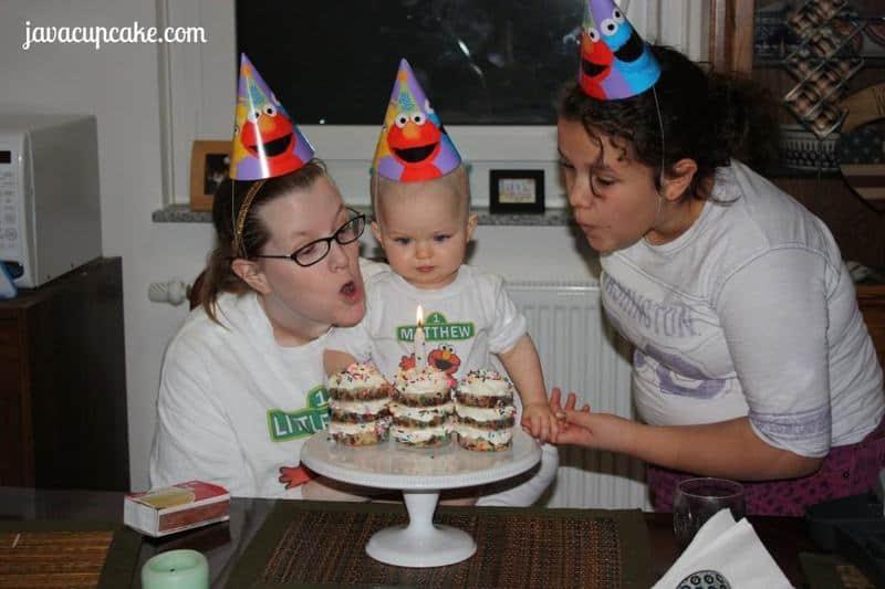 Birthday Cookie Cakelettes by JavaCupcake