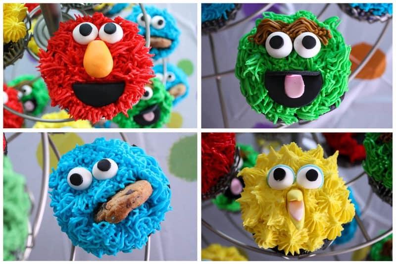 Tutorial: Sesame Street Cupcakes