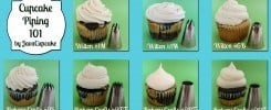 {Tutorial} Cupcake Piping 101 - 5 tips + 7 techniques