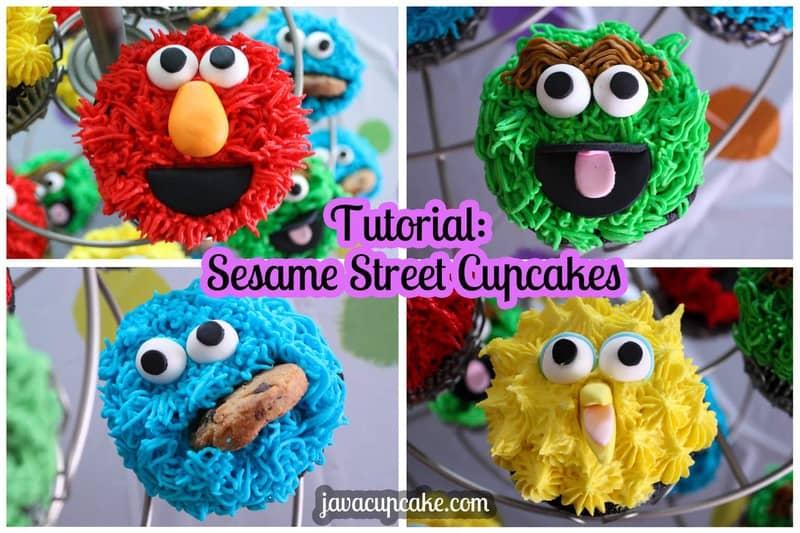 Cookie Monster Cake Easy