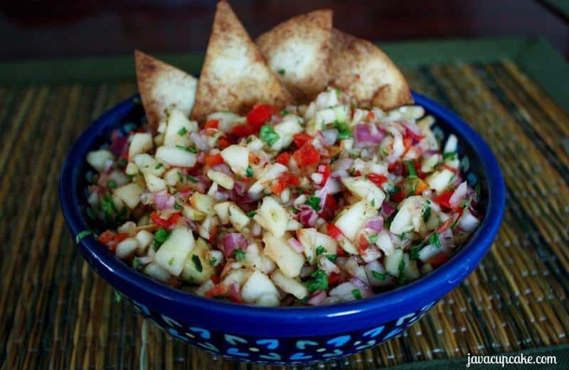 {Recipe} Apple Salsa by JavaCupcake.com