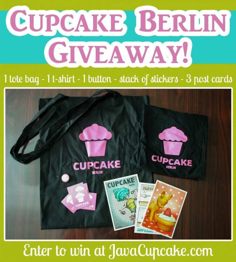 Cupcake Berlin Giveaway from JavaCupcake.com