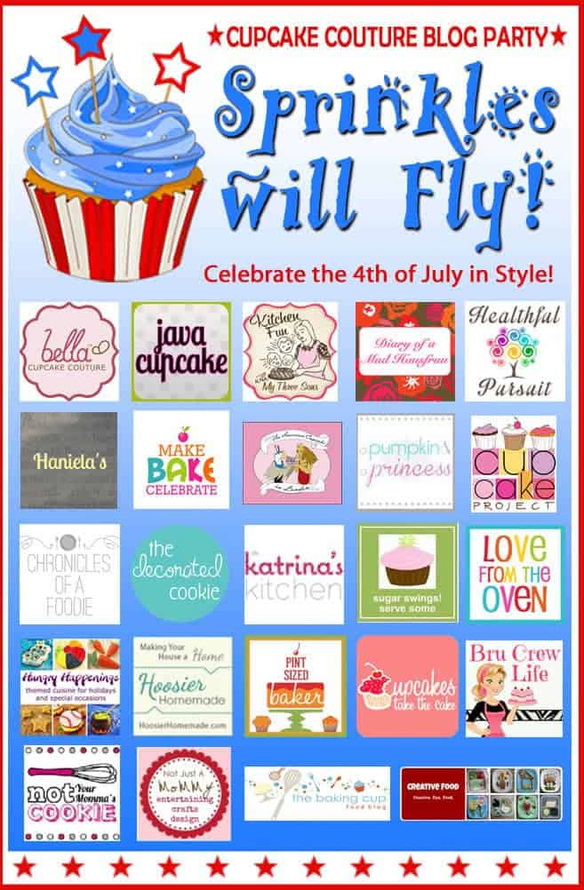 Sprinkles will Fly: A Cupcake Couture Blog Party!
