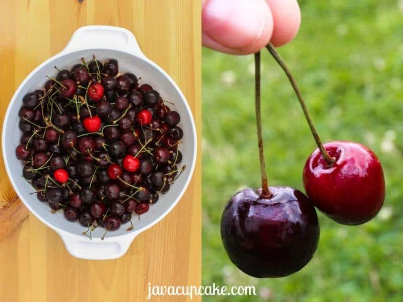 Cherry Cobbler by JavaCupcake.com