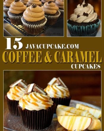Coffee & Caramel Cupcake Round Up