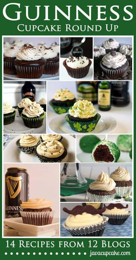 Guinness Cupcake Round Up
