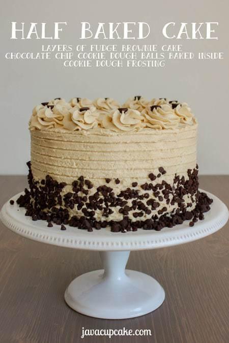 Half Baked Cake - JavaCupcake