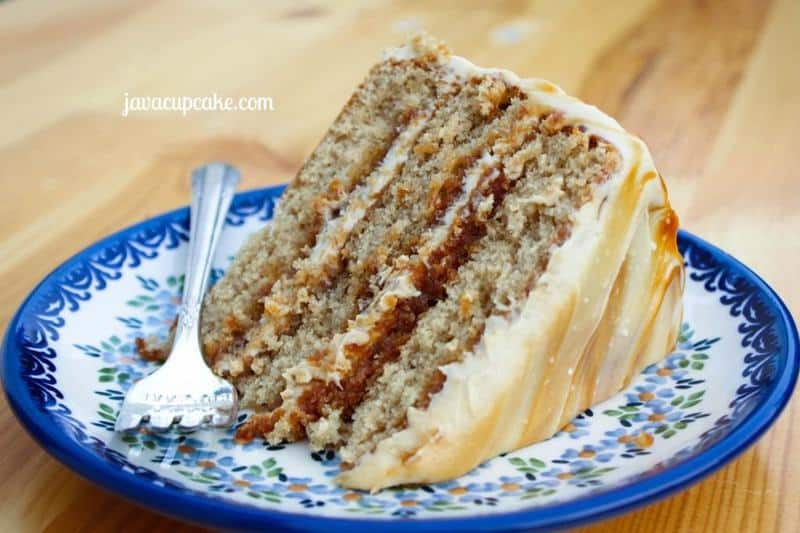 Salted Caramel Layer Cake - The JavaCupcake Blog