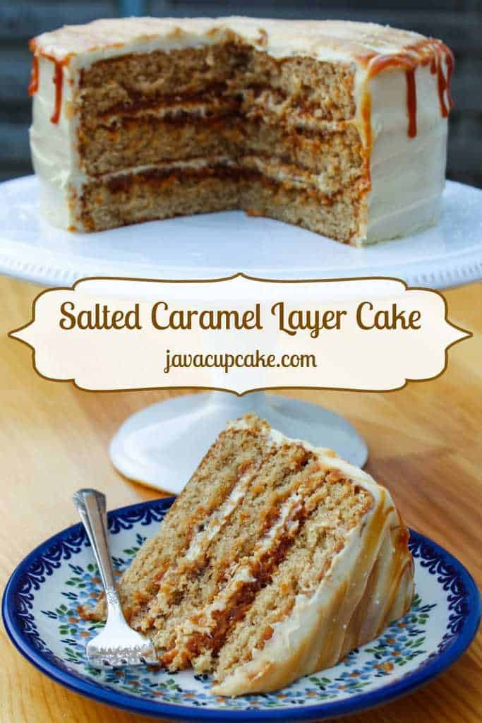 Salted Caramel Cake Recipe Alluring Of Salted Caramel Layer Cake Photos