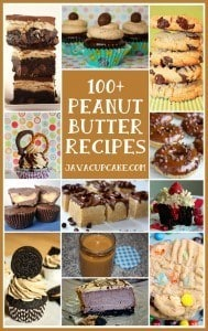 100+ Peanut Butter Recipes by JavaCupcake.com