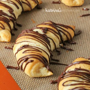 Double Chocolate Crescent Rolls