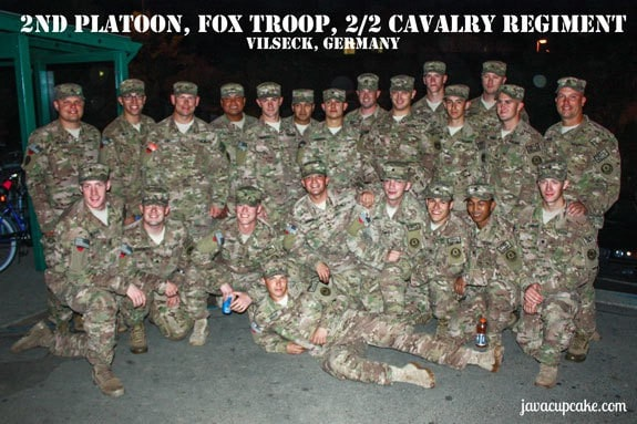 2nd Platoon, Fox Troop, 2/2 CR - Vilseck, Germany by JavaCupcake.com