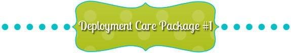 Deployment Care Package #1 by JavaCupcake.com