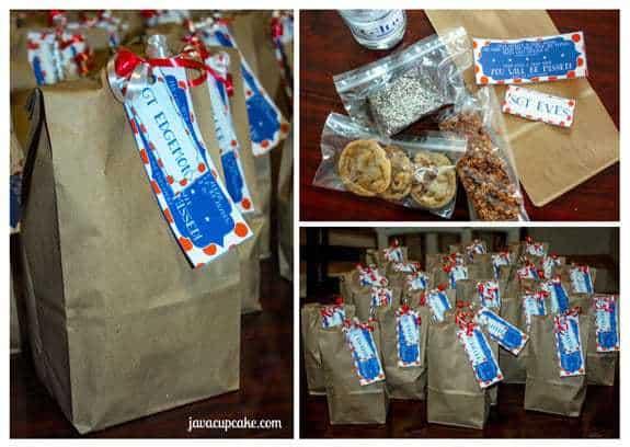 Pre-Deployment Goodie Bags by JavaCupcake.com