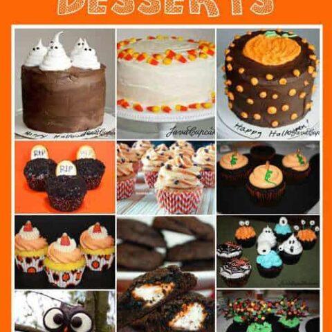 {Round Up} Halloween Desserts