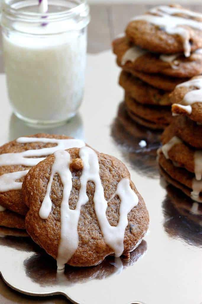Maple Walnut Cookies by Fabtastic Eats for JavaCupcake.com