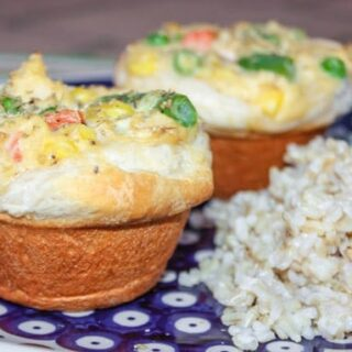 Mini Chicken Pot Pie Cupcakes