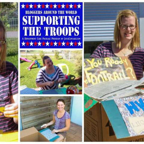 Bloggers Around the World Supporting the Troops: A Deployment Care Package Program