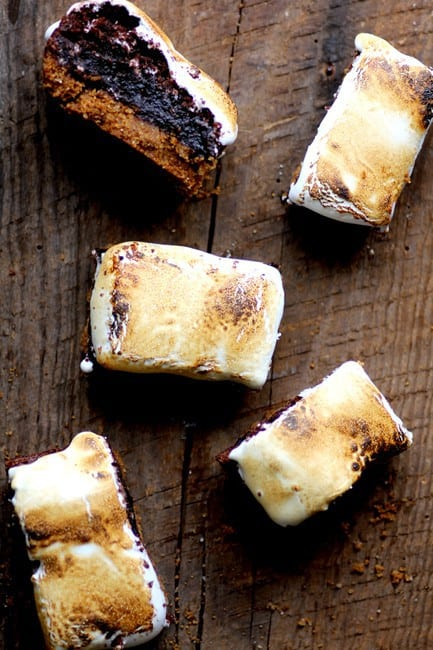 S'mores Brownies by Beard and Bonnet