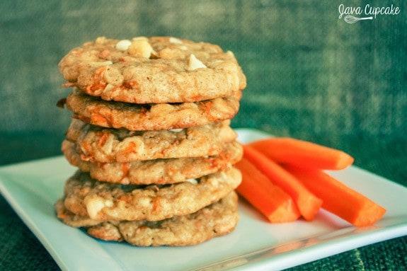Chewy Carrot Cake Cookies | JavaCupcake.com