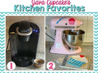 Java Cupcake's Kitchen Favorites - Keurig & KitchenAid