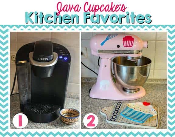Java Cupcake's Kitchen Favorites - Keurig & KitchenAid