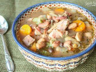 Ham Hock & 15 Bean Soup | JavaCupcake.com