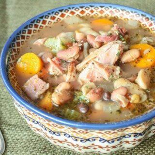 Ham Hock & 15 Bean Soup