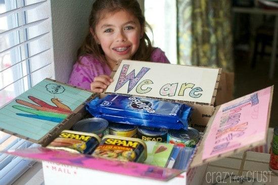 {Deployment Care Package Program} Crazy for Crust | JavaCupcake.com