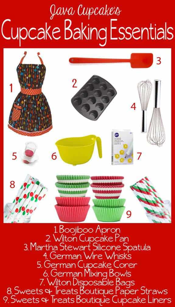 Cupcake Baking Essentials | JavaCupcake.com