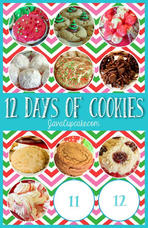 Day 10 o f 12 Days of Cookies | JavaCupcake.com