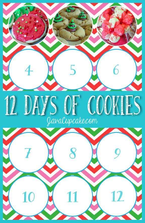 12 Days of Cookies - Day 3 | JavaCupcake.com