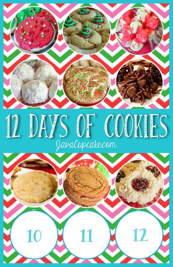 Day 9 of 12 Days of Cookies | JavaCupcake.com