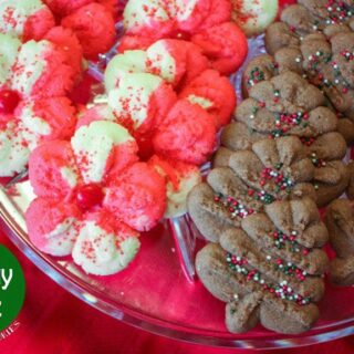 12 Days of Cookies- Day 3: Holiday Spritz