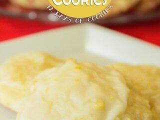Lemon Ricotta Cookies | JavaCupcake.com