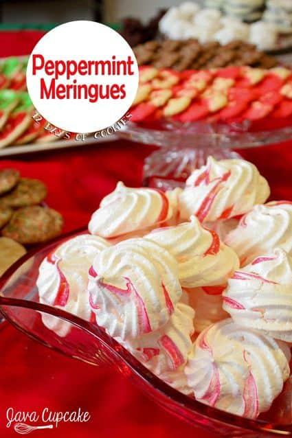 12 Days of Cookies - Day 10: Peppermint Meringues ...