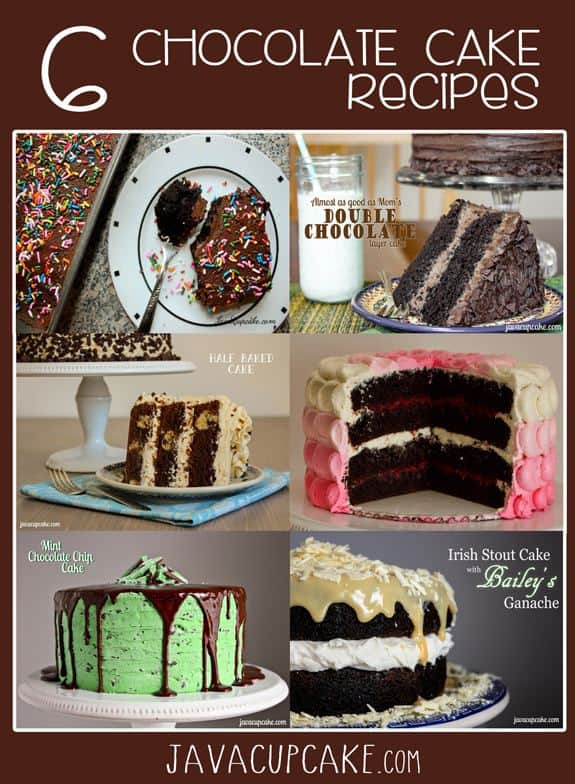 6 of the Best Chocolate Cake Recipes Ever! | JavaCupcake.com