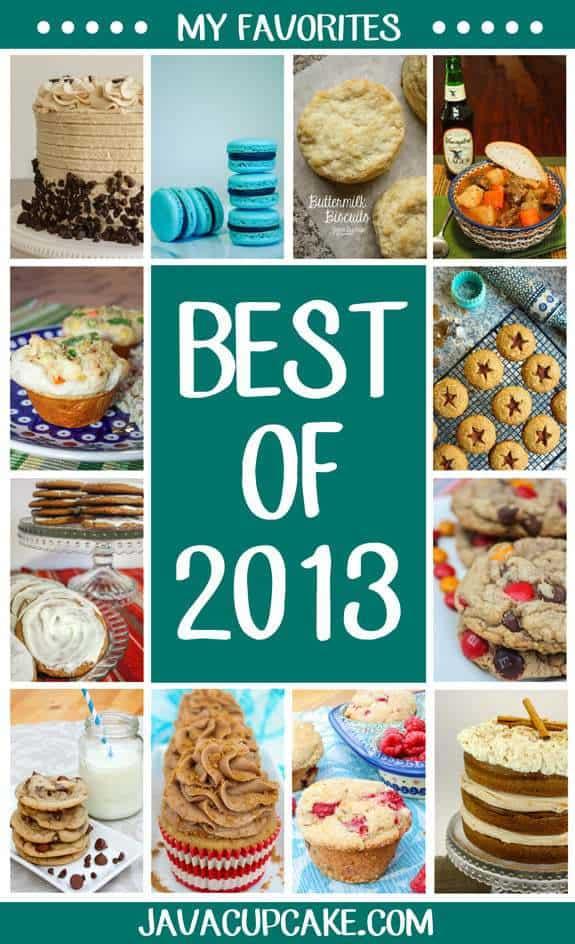Best of 2013: My Favorites | JavaCupcake.com