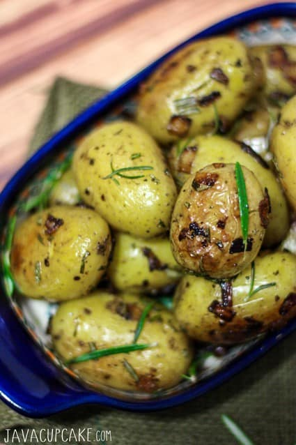 German Style Rosemary Potatoes | JavaCupcake.com