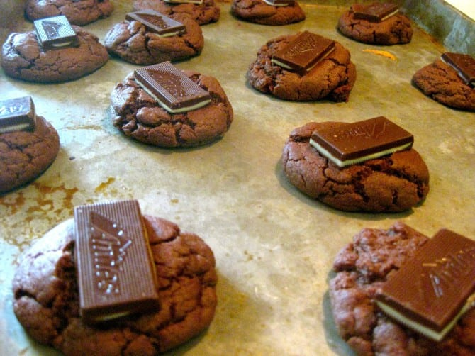 Creamy Mint Cookies