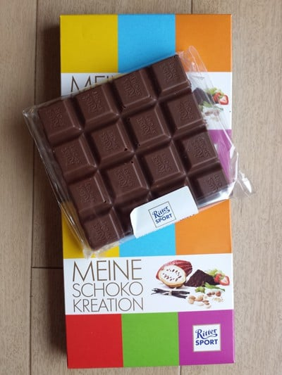Handmade Ritter Sport Chocolate Bars from Berlin, Germany | JavaCupcake.com