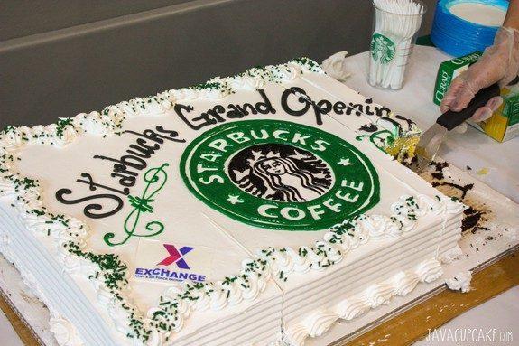 Starbucks Grafenwoehr Grand Opening   JavaCupcake.com