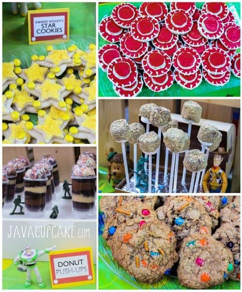 Toy Story Party Desserts | JavaCupcake.com