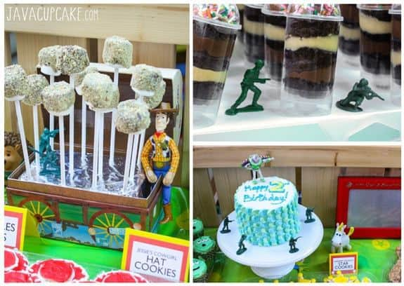 Toy Story Party Dessert Table: Prop Ideas | JavaCupcake.com