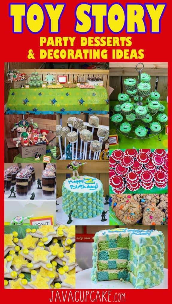Toy Story Party Desserts & Decorating Ideas | JavaCupcake.com