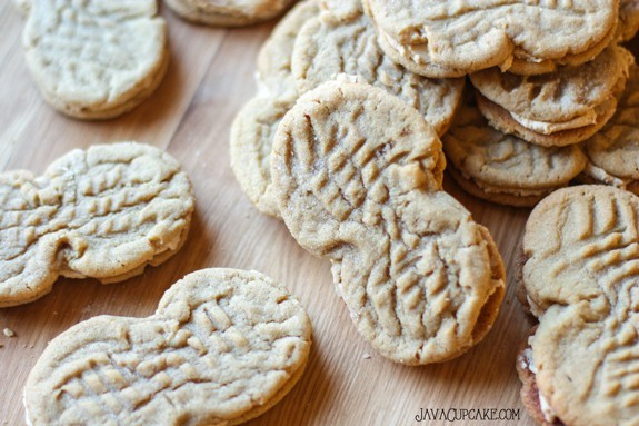 Homemade Nutter Butters - Step by step tutorial to create your favorite peanut butter cookie at home! | JavaCupcake.com