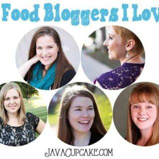 5 Food Bloggers I Love