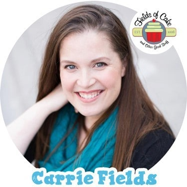 Carrie Fields of Fields of Cake & Other Good Stuff