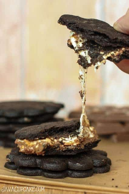 Homemade Chocolate Graham Crackers - Perfect for s'mores!   JavaCupcake.com