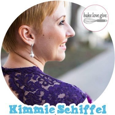 Kimmie Schiffel of Bake. Love. Give.
